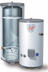 Inside view of Water heater