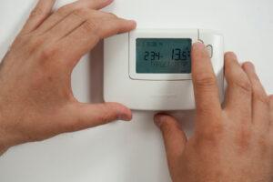 thermostatic Radiator Control Panel