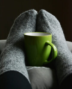 Cosy Feet in Socks After An Annual Boiler Service